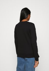 Scotch & Soda - EASY CREW NECK WITH GRAPHIC - Sweatshirt - black - 2