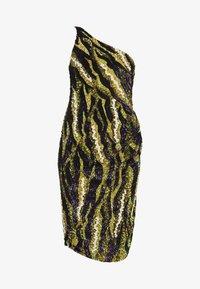 MANÉ - FOREST DRESS - Sukienka koktajlowa - nude/moss - 4