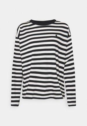SCOTTY - T-shirt à manches longues - black/wax