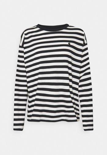 SCOTTY - Long sleeved top - black/wax