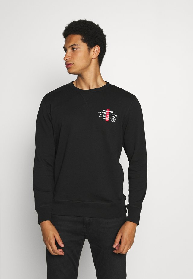 WILLY SWEAT-SHIRT - Collegepaita - black