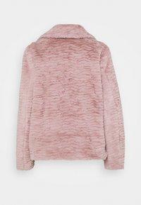 Dorothy Perkins Petite - WAVE COLLAR AND REVERE COAT - Winter jacket - pink - 1
