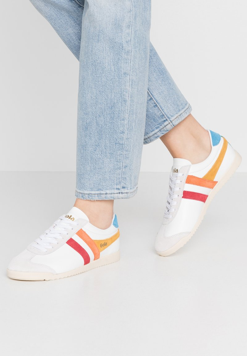 Gola - BULLET TRIDENT - Sneakersy niskie - white/multicolor