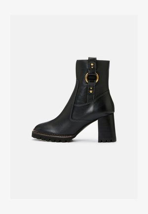 ERINE - Classic ankle boots - black