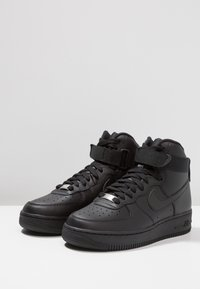 Nike Sportswear - AIR FORCE 1 - High-top trainers - black - 4
