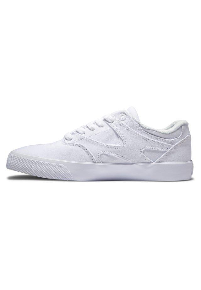 KALIS VULC - Sneakers laag - white/white
