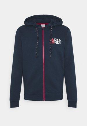 JJBO ZIP HOOD - Zip-up hoodie - navy blazer