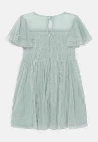Anaya with love - GATHERED BODICE RUFFLE DRESS - Vestido de cóctel - pale blue - 1