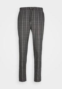 SLATE MAKE ELASTIC WAIST - Trousers - dark grey