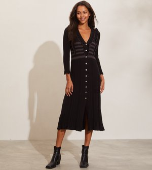 EZRA - Jumper dress - almost black