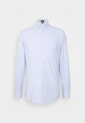 WASHED TICKING - Chemise - white/blue
