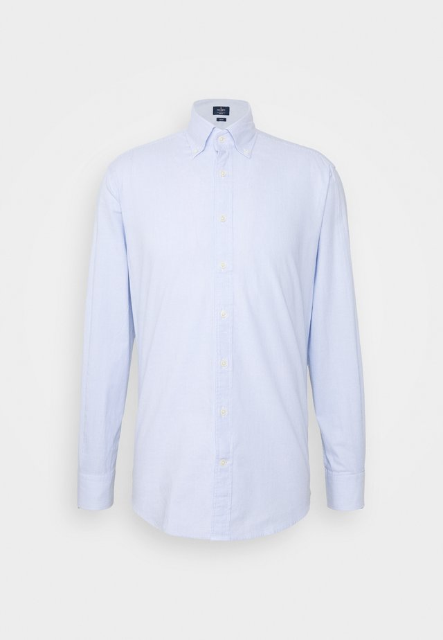 WASHED TICKING - Camicia - white/blue