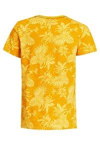 WE Fashion - Print T-shirt - ochre yellow - 4