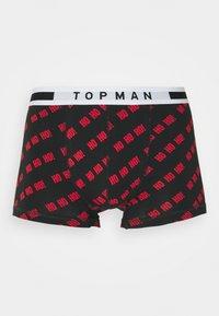 Topman - XMAS SLOGAN 3 PACK - Boxerky - multi - 7