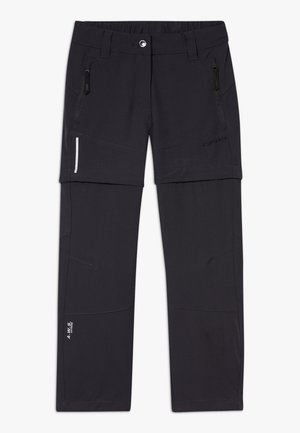 KANO 2-IN-1 - Outdoor trousers - anthracite
