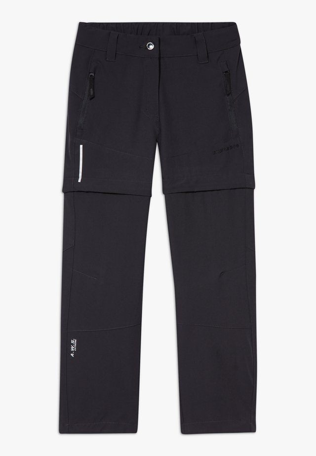 KANO 2-IN-1 - Pantalons outdoor - anthracite