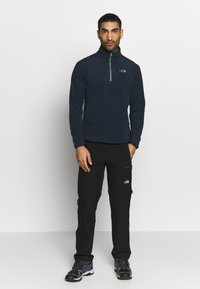 The North Face - GLACIER 1/4 ZIP - Fleecová mikina - urban navy - 1