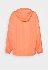 GAP - UPCYCLED PACKABLE  - Summer jacket - neon coral volt - 1