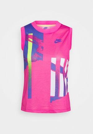 SLAM TANK  - Treningsskjorter - pink foil/hot lime/white/sapphire
