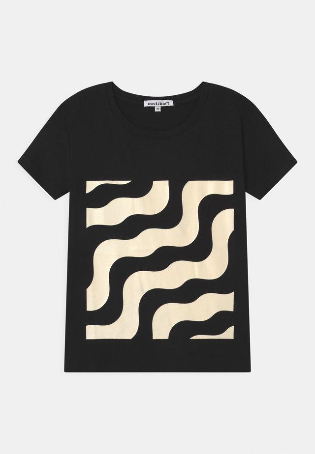 MAGARETTA  - T-shirt imprimé - black