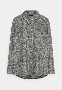 someday. - NIEKE BOUCLÉ - Lehká bunda - slate grey melange - 0