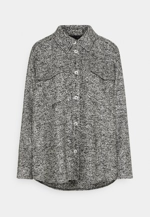 NIEKE BOUCLÉ - Light jacket - slate grey melange