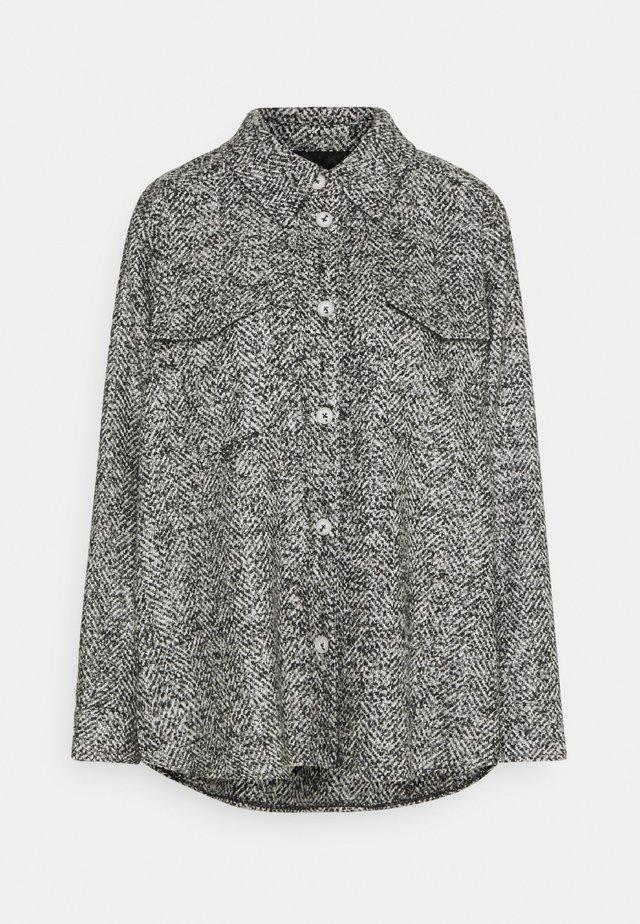 NIEKE BOUCLÉ - Lett jakke - slate grey melange