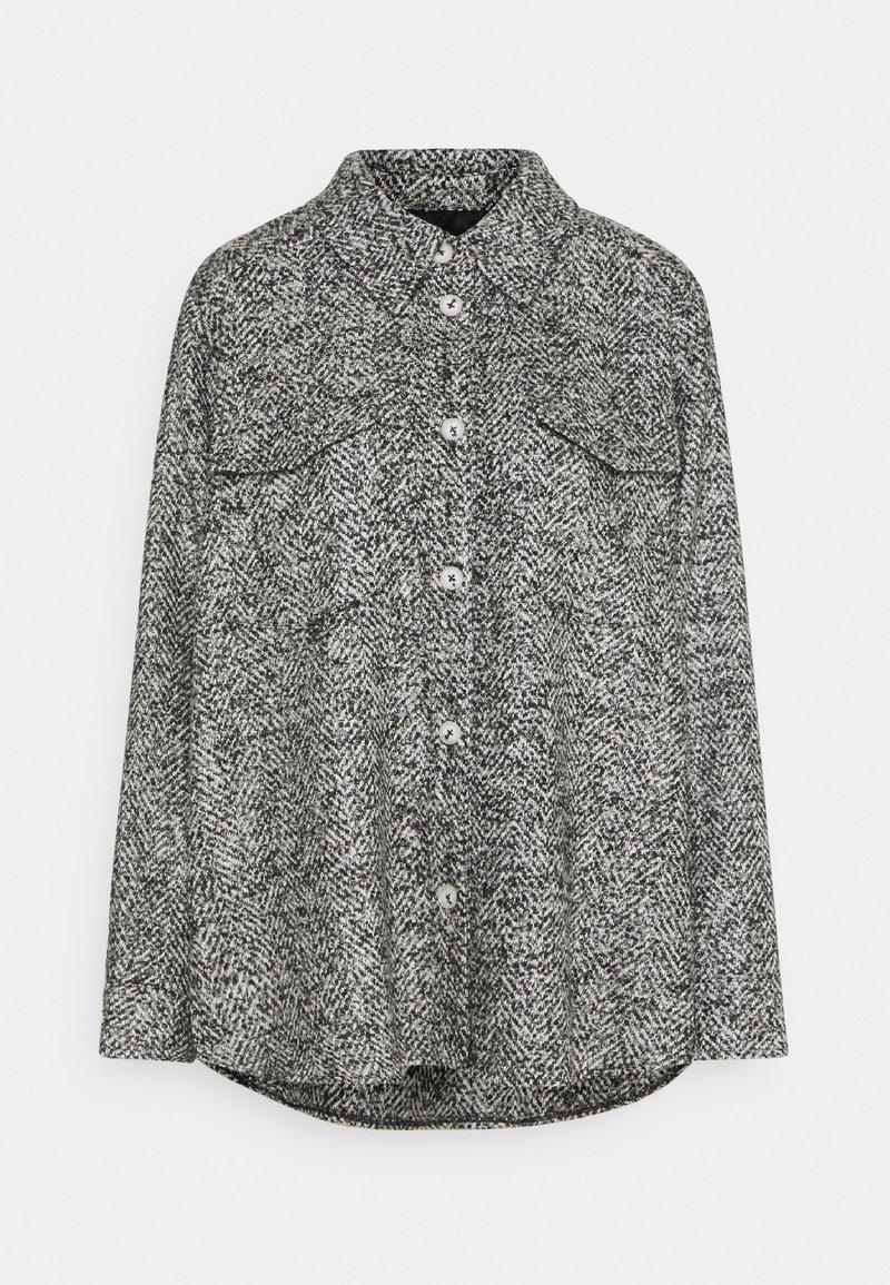 someday. - NIEKE BOUCLÉ - Lehká bunda - slate grey melange