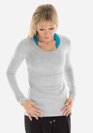 LONGSLEEVE WS1 - Long sleeved top - grey melange