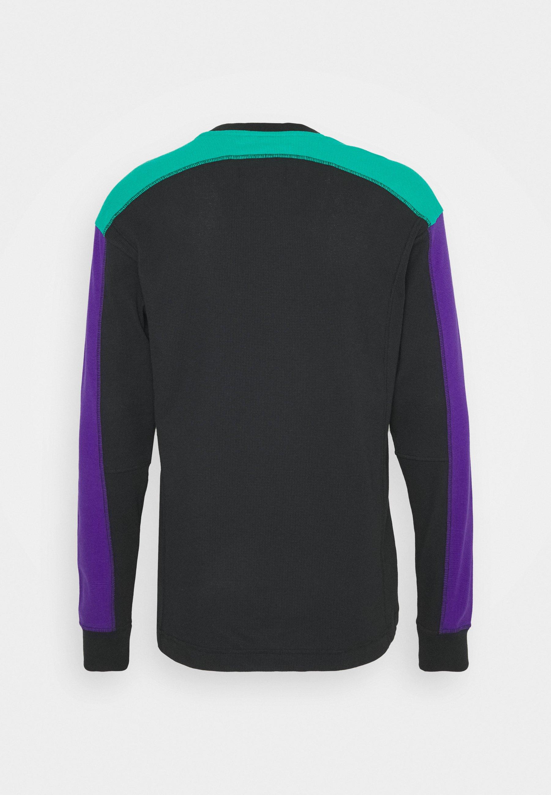 Jordan Mountainside Thermal - Topper Langermet Black/neptune Green/court Purple/svart