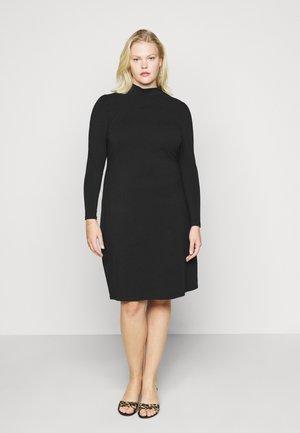 CARMALORCA LIFE KNEE DRESS - Pouzdrové šaty - black