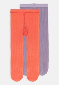 MP Denmark - BABY 2 PACK - Tights - coral peach - 3