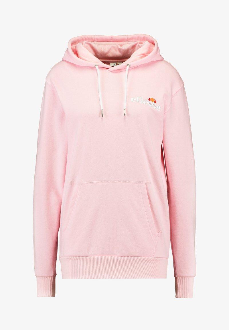 Ellesse Junior Pink Hoodie   The Rainy Days