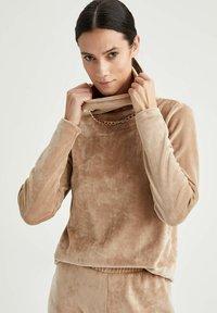 DeFacto - Sweatshirt - ecru - 3