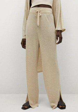 LINO PUNTO - Pantalon classique - gris claro/pastel