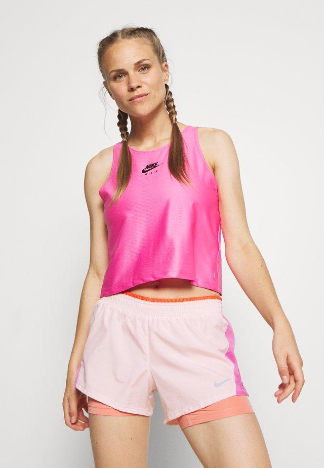 AIR TANK - T-shirt sportiva - pinksicle/black