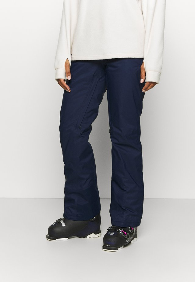 INSULATED SNOWBELLE PANTS - Talvihousut - classic navy