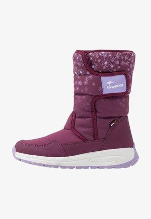 K-FLUFF RTX - Winter boots - fuchsia/lavender
