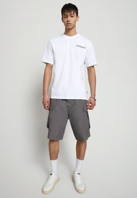 Napapijri - SOLE GRAPHIC - T-shirt print - bright white - 1