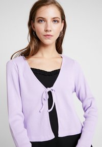 Monki - MATHILDA CARDIGAN - Cardigan - purple - 4