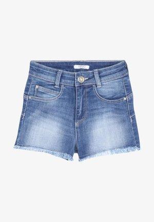 Shorts vaqueros - vintage look blue denim