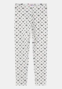 CHIARA FERRAGNI - ALL OVER - Leggings - Trousers - panna/rosa - 0