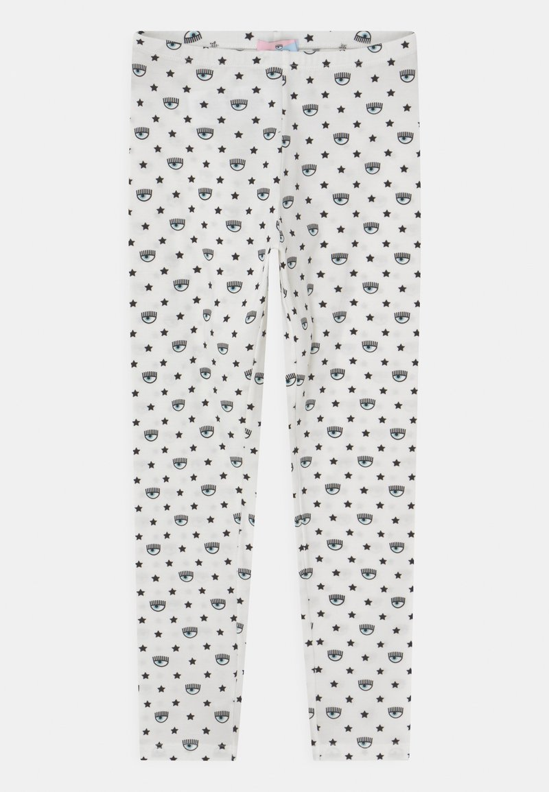 CHIARA FERRAGNI - ALL OVER - Leggings - Trousers - panna/rosa