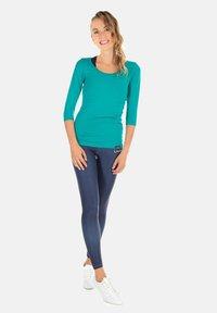 Winshape - HWL102 INDIGO-BLUE HIGH WAIST -TIGHTS - Leggings - rich blue - 2