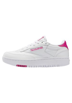 CLUB C DOUBLE - Sneakers - white/white/propnk