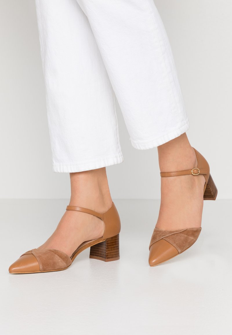 Anna Field - LEATHER CLASSIC-HEELS - Klassieke pumps - camel