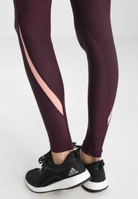 Skins - DNAMIC LONG - Leggings - merlot - 4