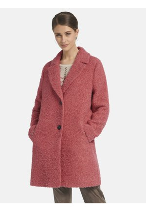 Classic coat - koralle