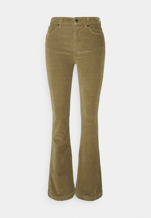 TARA FLARE BABY - Flared jeans - army