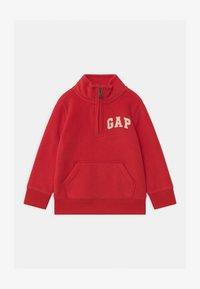 GAP - TODDLER BOY MOCK - Fleece trui - pure red - 0